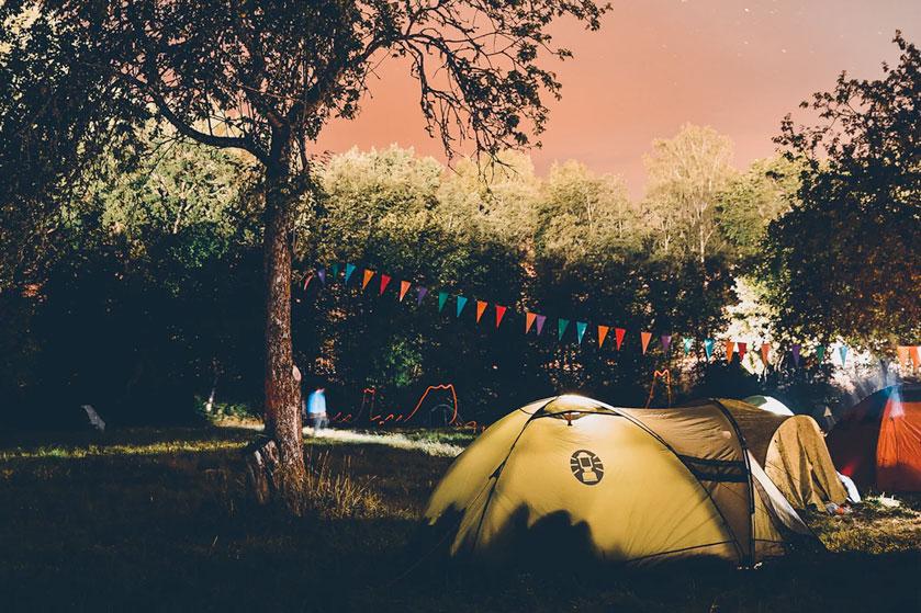 Къмпинг за палатки